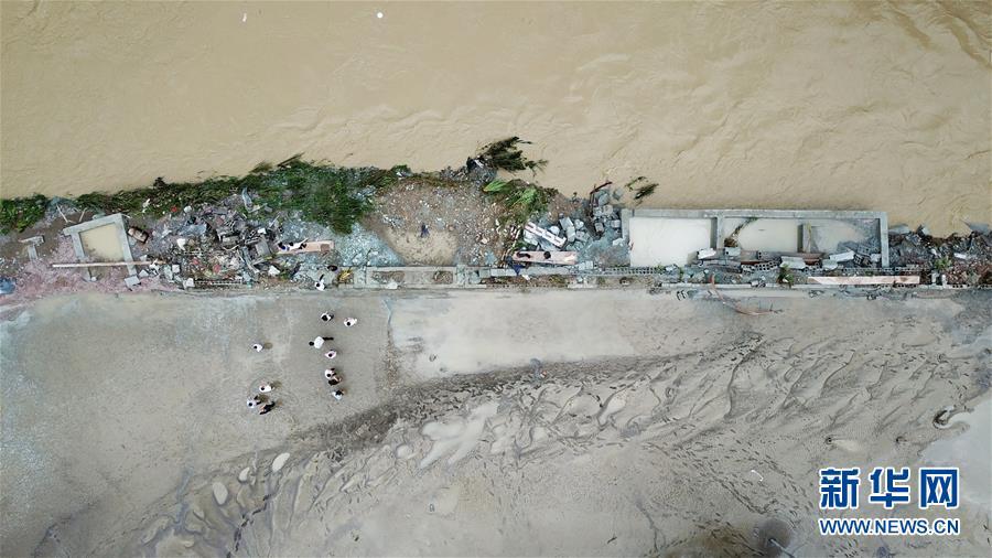 (防汛抗洪·圖文互動)(4)山洪中的生死救援半小時
