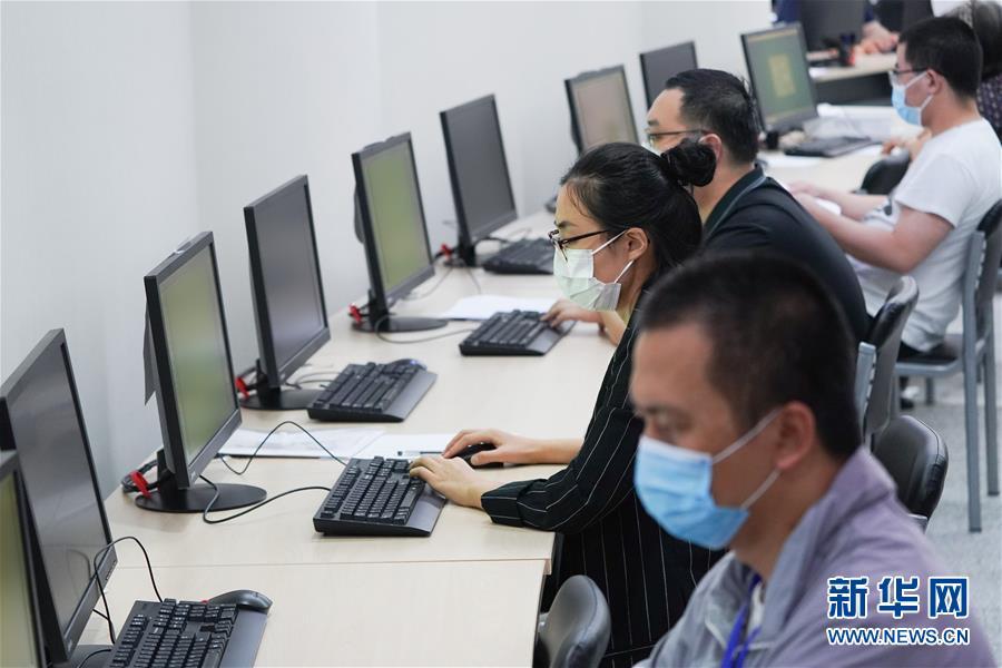 (教育)(1)北京:走进高考评卷点