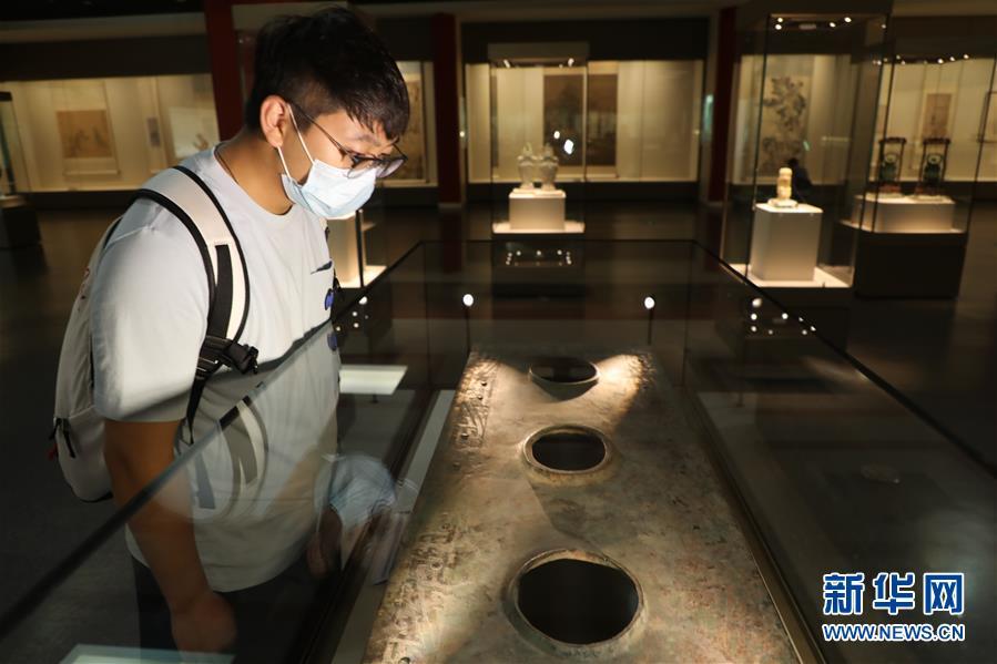 (圖文互動)(1)西周夔紋銅禁:從電解銅廠撿回拼成的國寶