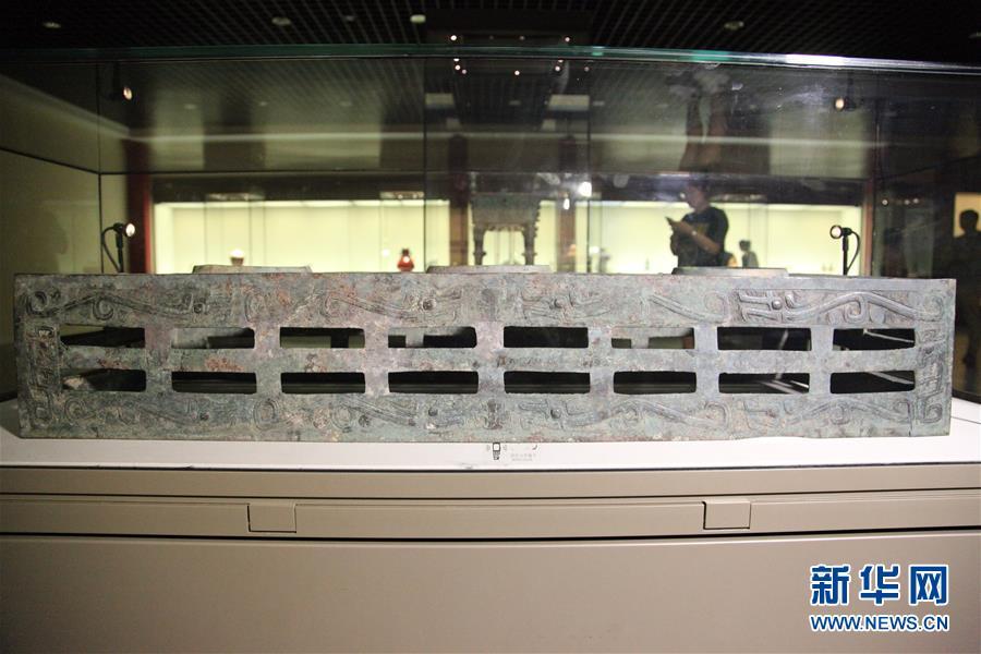(圖文互動)(2)西周夔紋銅禁:從電解銅廠撿回拼成的國寶
