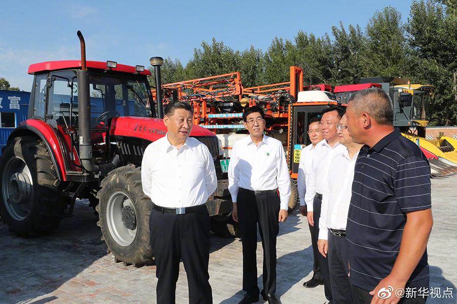 习近平:因地制宜 走好农业合作化道路