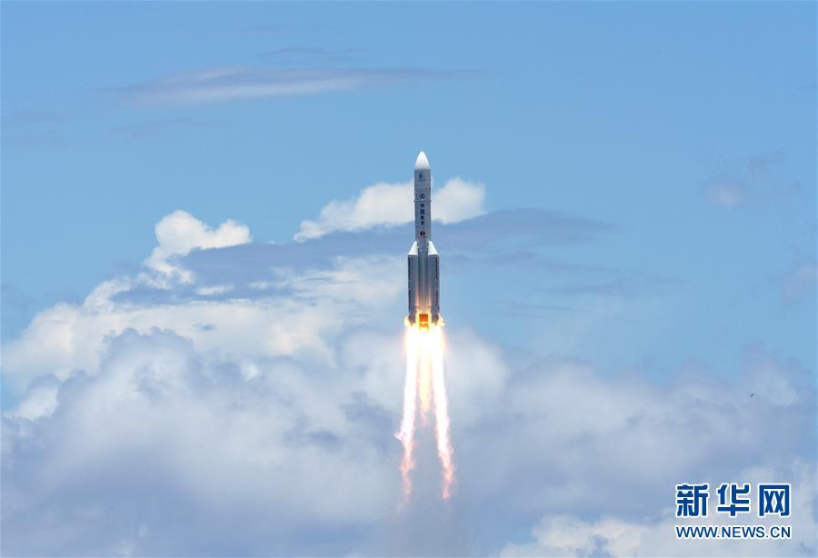 """(图文互动)(1)我国首次火星探测任务""""天问一号""""探测器成功发射"""