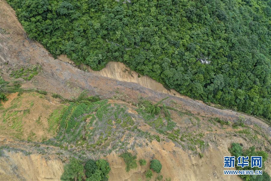 (防汛抗洪)(1)重慶武隆山體滑坡形成堰塞湖