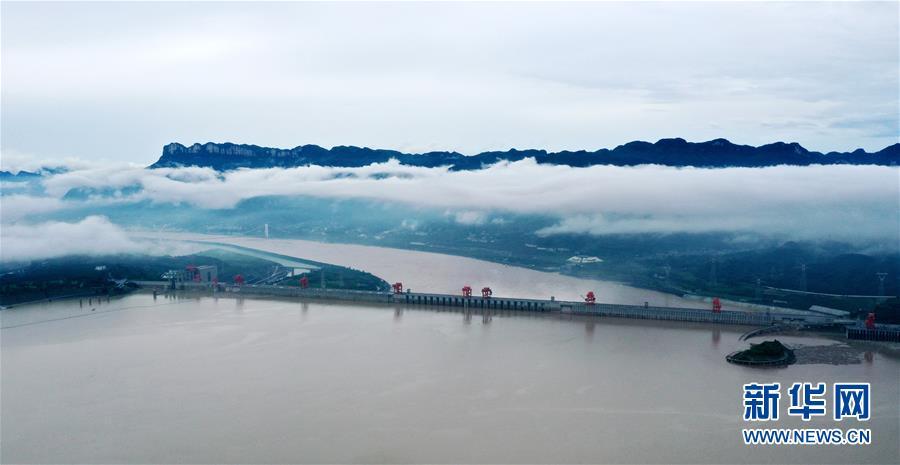 """#(防汛抗洪·圖文互動)(1)""""長江2020年第3號洪水""""在長江上遊形成"""