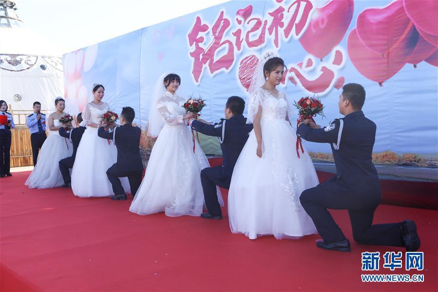 (图文互动)(1)特写:一场特殊的集体婚礼
