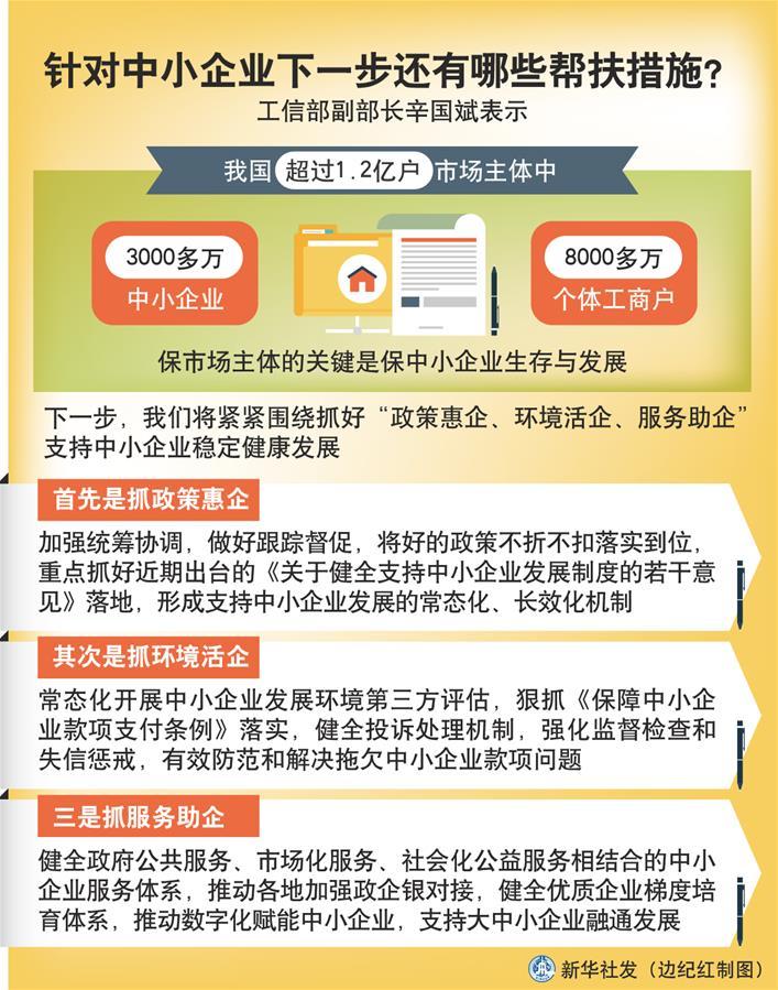 (圖表)〔權威訪談〕針對中小企業下一步還有哪些幫扶措施?