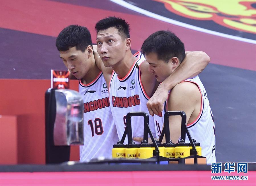 (體育)(65)籃球——CBA總決賽:廣東東莞銀行奪冠