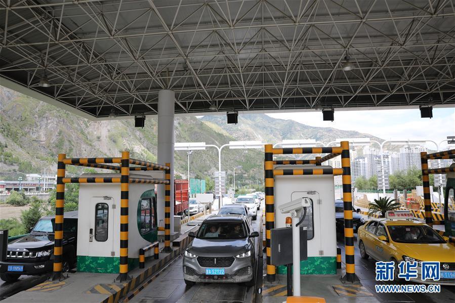(防汛抗洪)(3)甘肅隴南:因暴洪泥石流災害中斷的高速公路已全部恢復通車