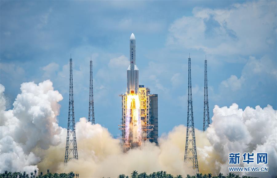 """(圖文互動)(2)我國首次火星探測任務""""天問一號""""探測器成功發射"""