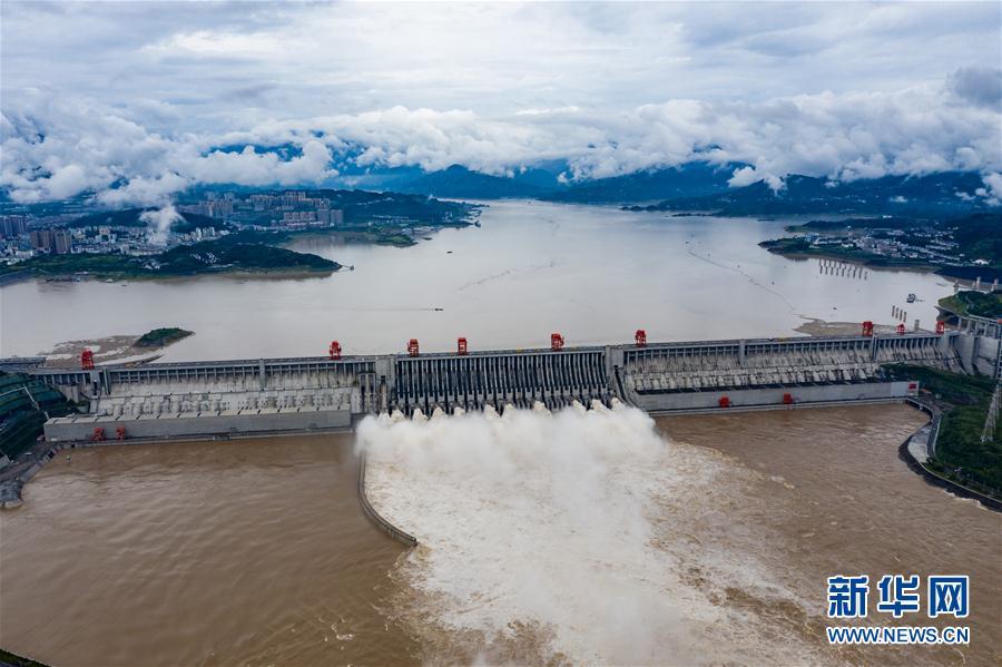 关注:三峡水库拦洪68.8亿立方米 减轻中下游干流防洪压力