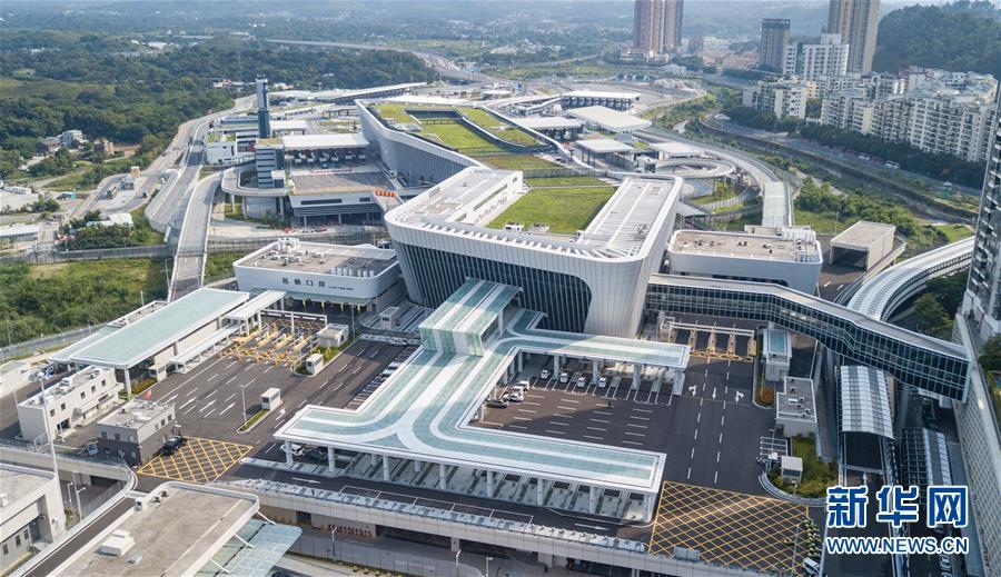 (經濟)(1)蓮塘/香園圍口岸正式啟用 大灣區再添新物流大通道