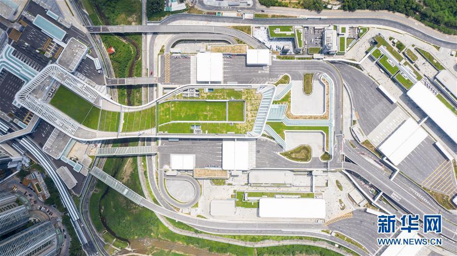 (經濟)(5)蓮塘/香園圍口岸正式啟用 大灣區再添新物流大通道