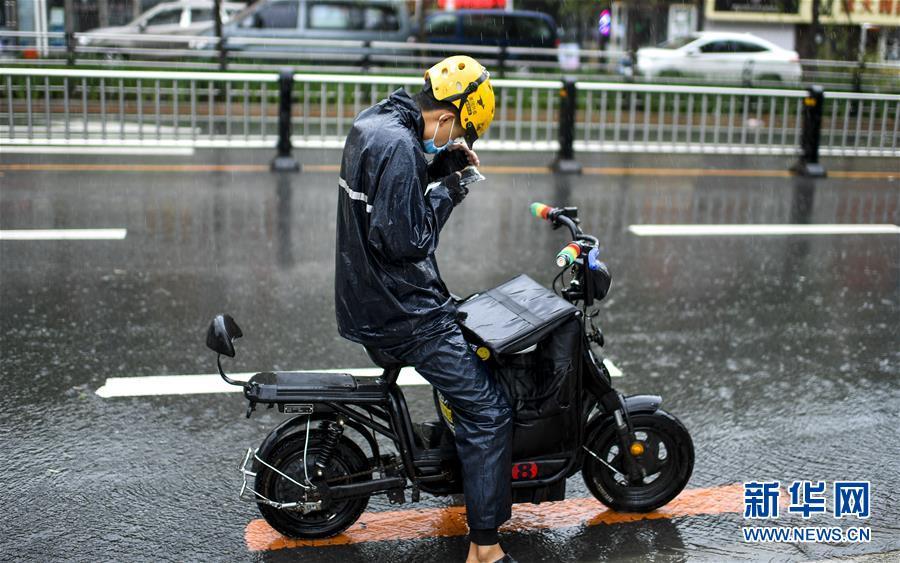 """(環境)(7)受臺風""""美莎克""""影響 吉林發布暴雨橙色預警信號"""