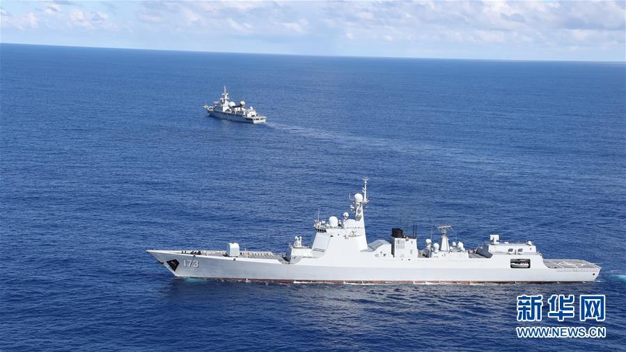 (在习近平强军思想指引下·我们在战位报告·图文互动)(1)海军长沙舰:向着梦想全速前进