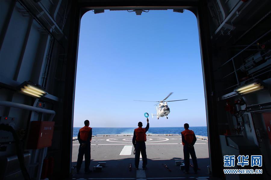 (在习近平强军思想指引下·我们在战位报告·图文互动)(2)海军长沙舰:向着梦想全速前进