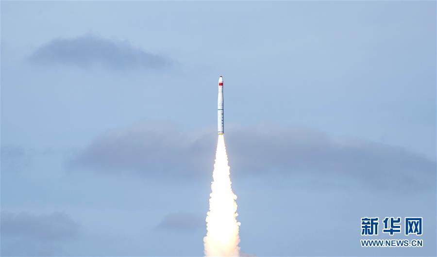 """(图文互动)(1)一箭九星!我国在黄海海域成功发射""""吉林一号""""高分03-1组卫星"""