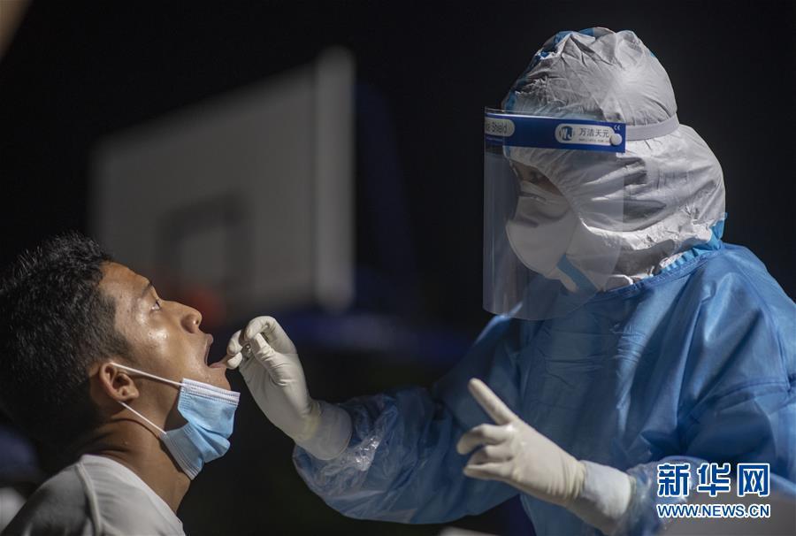 (热点鲜报·图文互动)(2)云南瑞丽已完成核酸检测逾9.5万人 全部为阴性