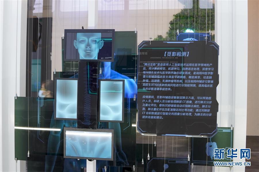 (在習近平新時代中國特色社會主義思想指引下——新時代新作為新篇章·習近平總書記關切事·圖文互動)(3)為經濟育動能 讓生活更多彩——從2020智博會看智能産業發展新動向