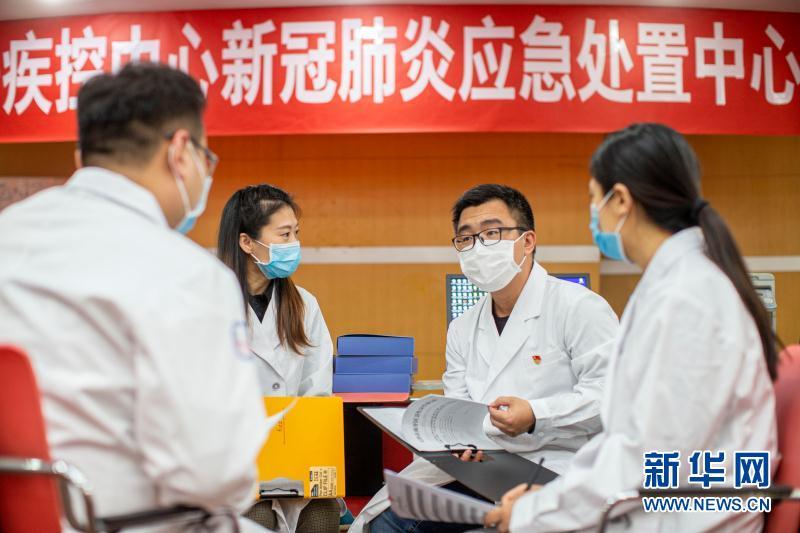 (抗疫一线医务人员英雄群体·图文互动)(5)合力筑起生命防线——记天津市对口支援恩施州疾控工作队
