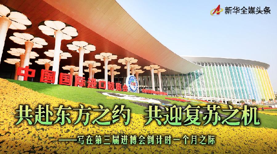 共赴东方之约 共迎复苏之机——写在第三届进博会倒计时一个月之际