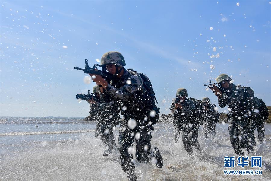 东部战区陆军第73集团军某旅红四连练兵备战记事
