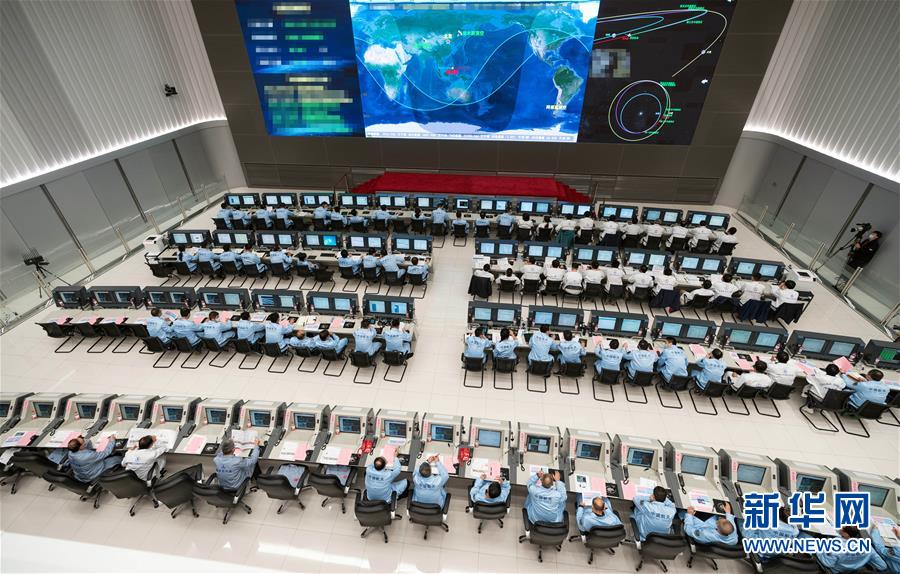 """(科技)(2)""""天問一號""""探測器順利完成深空機動"""