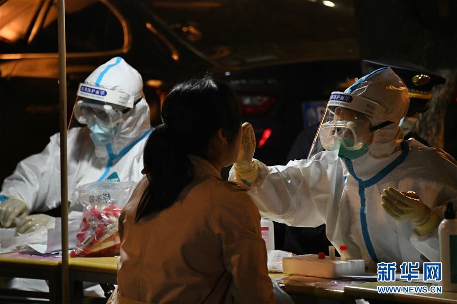 (聚焦疫情防控)(2)青島全員檢測:已完成過百萬人的核酸檢測採樣
