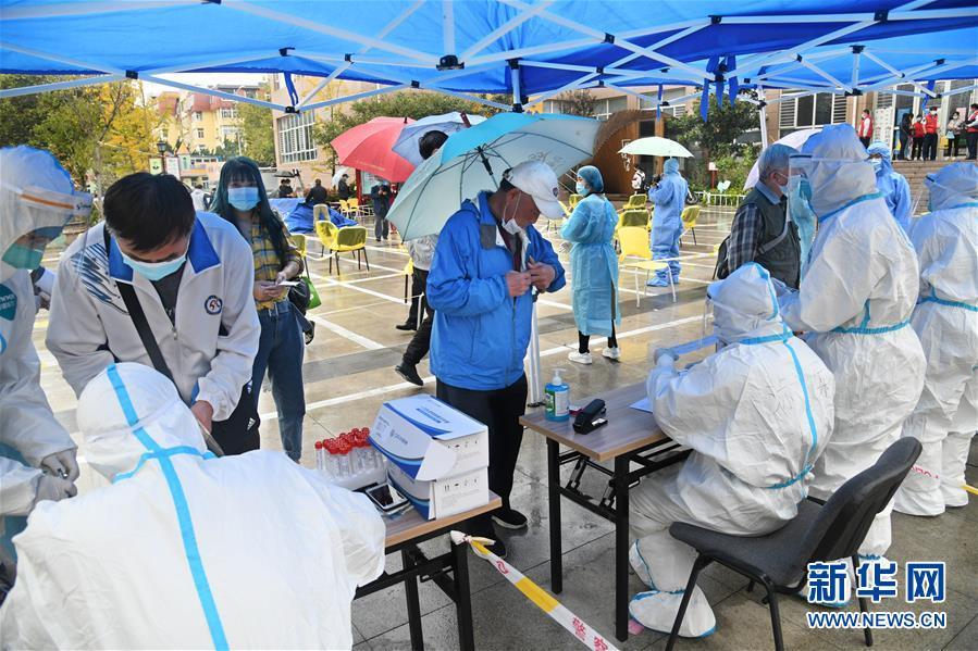 (聚焦疫情防控)(2)青岛全员核酸检测:已采样超过560万份