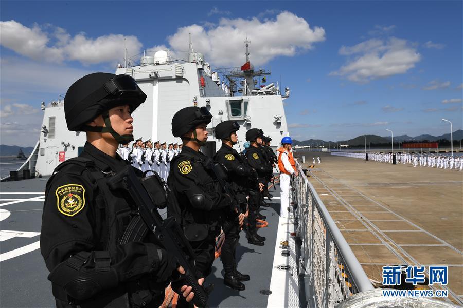(图文互动)(3)中国海军第35批护航编队凯旋