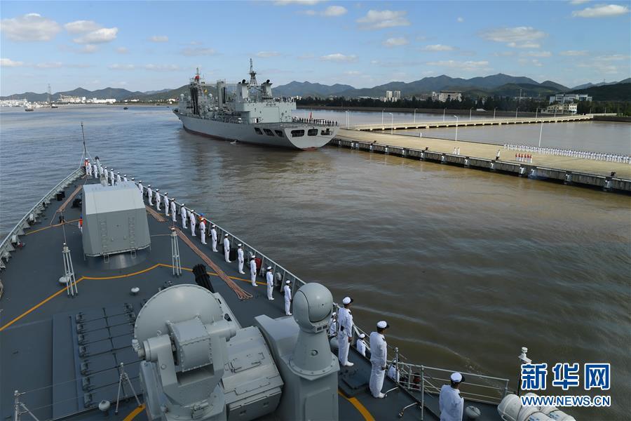(图文互动)(4)中国海军第35批护航编队凯旋