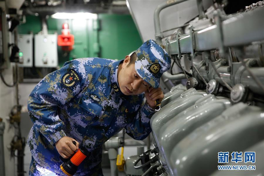 (图文互动)(3)一份勇敢者的事业——海军毕昇舰投身新武器装备试验记事