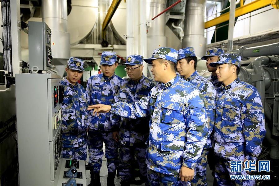 (图文互动)(4)一份勇敢者的事业——海军毕昇舰投身新武器装备试验记事