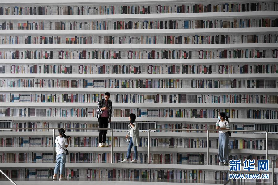 (新華全媒頭條·圖文互動)(4)我們都是讀者——促進全民閱讀 構建書香社會