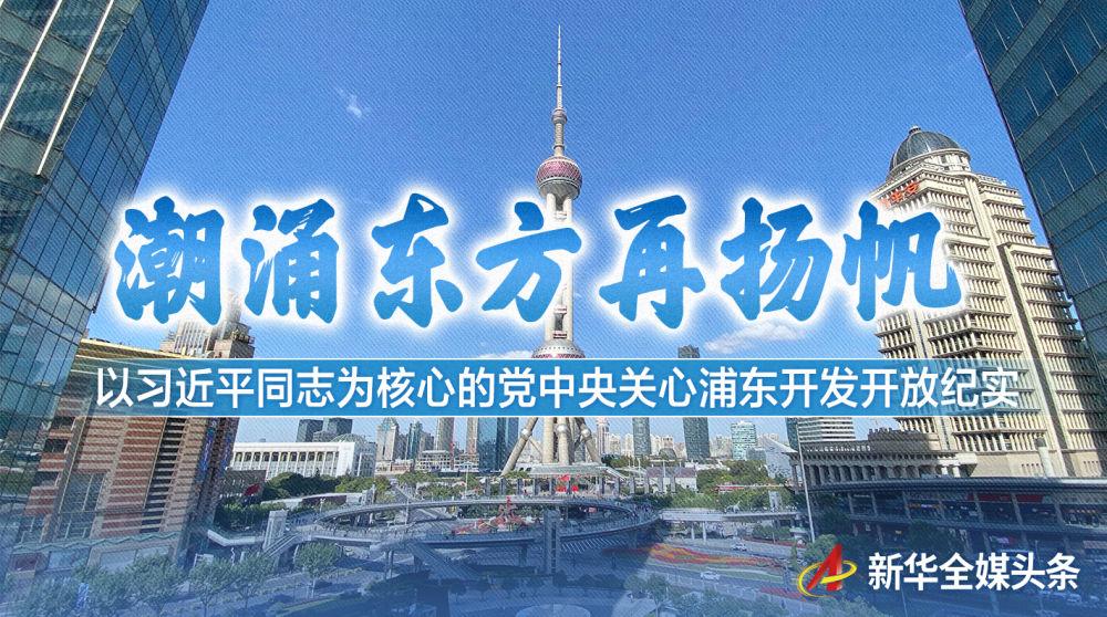 以习近平同志为核心的党中央关心浦东开发开放纪实