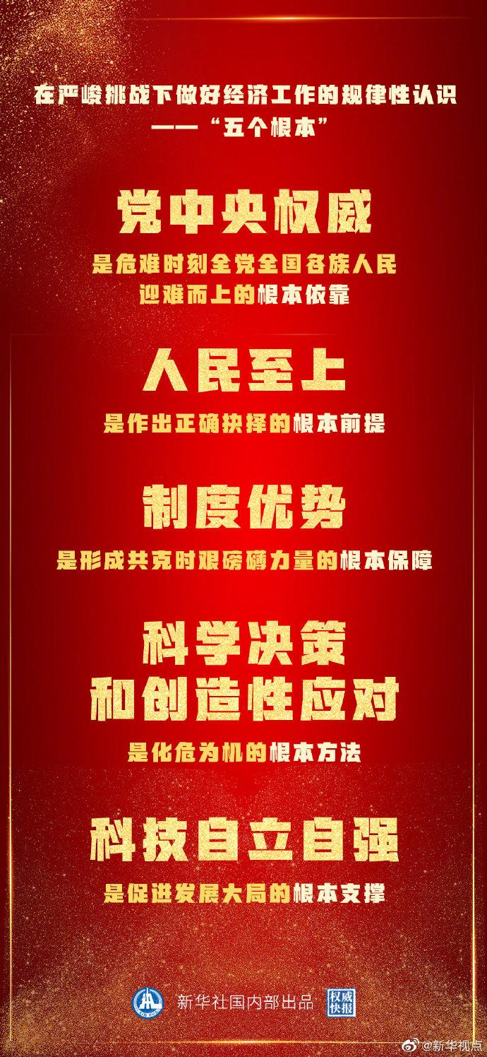 2020中国答卷的五个根本