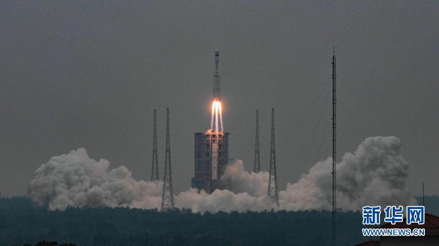 厉害了!长征八号运载火箭首次飞行试验取得圆满成功