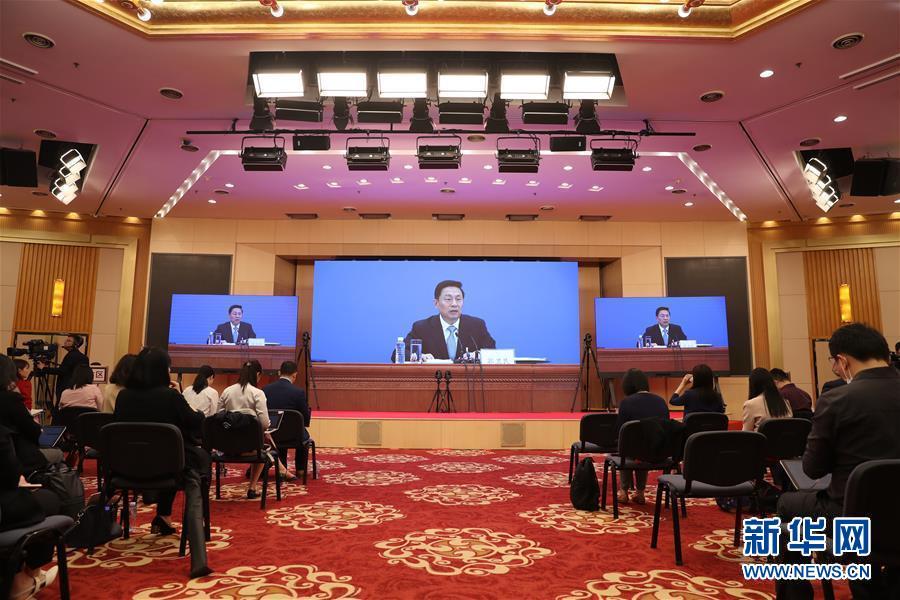 (两会·XHDW)(2)全国政协十三届三次会议举行新闻发布会