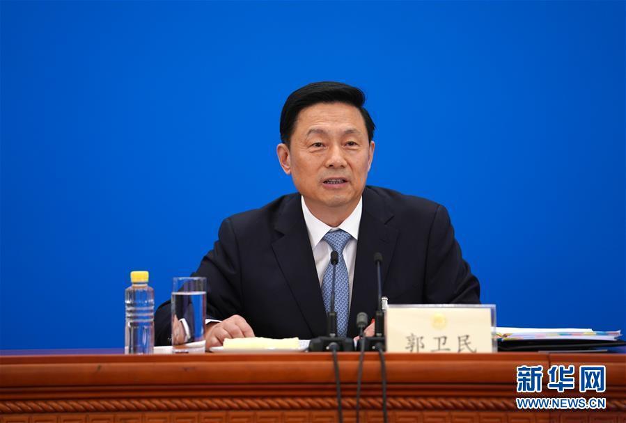 (两会·XHDW)(3)全国政协十三届三次会议举行新闻发布会