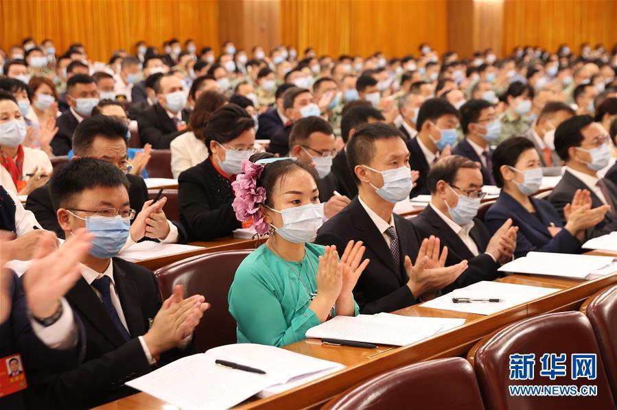 (两会·人大开幕·XHDW)(8)十三届全国人大三次会议在京开幕