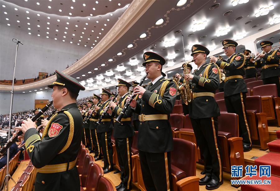 (两会·人大开幕·XHDW)(14)十三届全国人大三次会议在京开幕