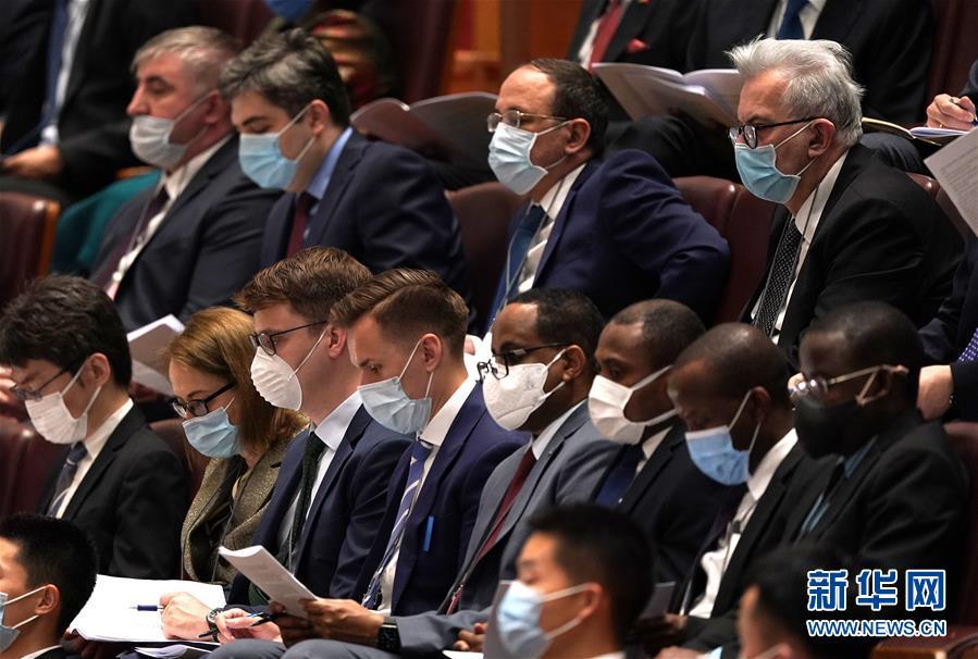 (两会·人大开幕·XHDW)(15)十三届全国人大三次会议在京开幕