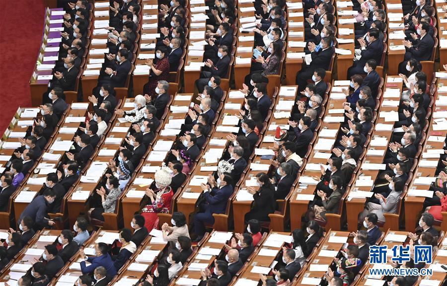 (两会·人大开幕·XHDW)(17)十三届全国人大三次会议在京开幕