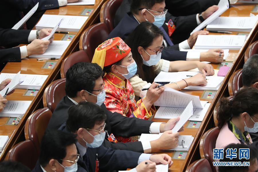 (两会·人大开幕·XHDW)(18)十三届全国人大三次会议在京开幕
