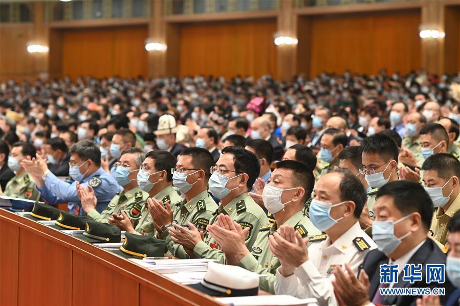 (两会·人大开幕·XHDW)(28)十三届全国人大三次会议在京开幕