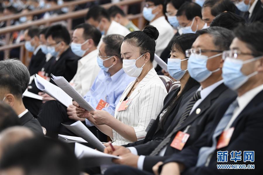 (两会·人大开幕·XHDW)(32)十三届全国人大三次会议在京开幕