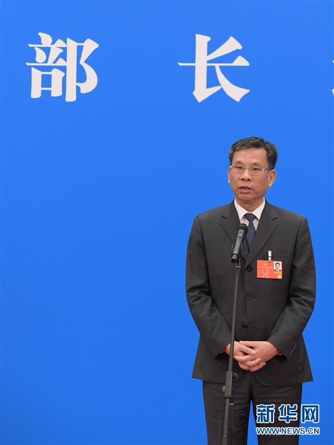 (两会·人大开幕·XHDW)(3)采访部长