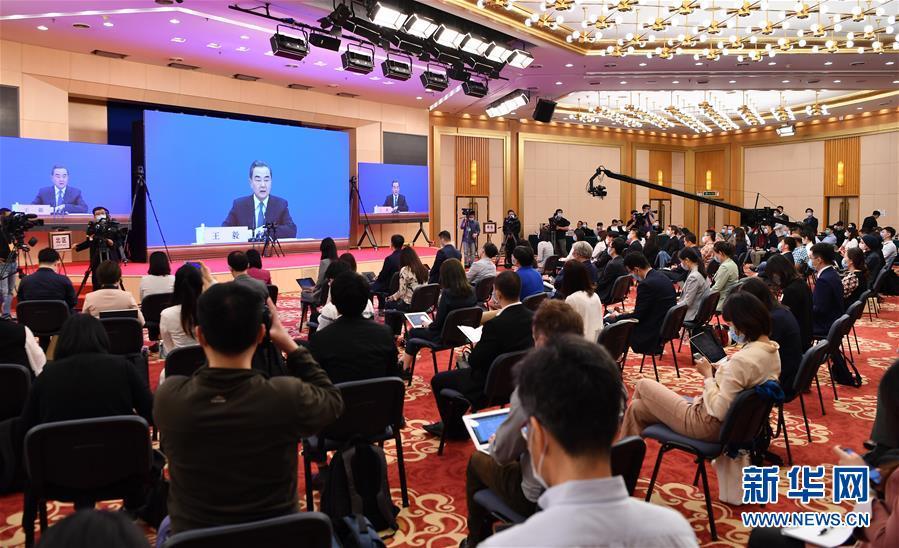 (兩會)(4)國務委員兼外交部長王毅就中國外交政策和對外關係回答中外記者提問