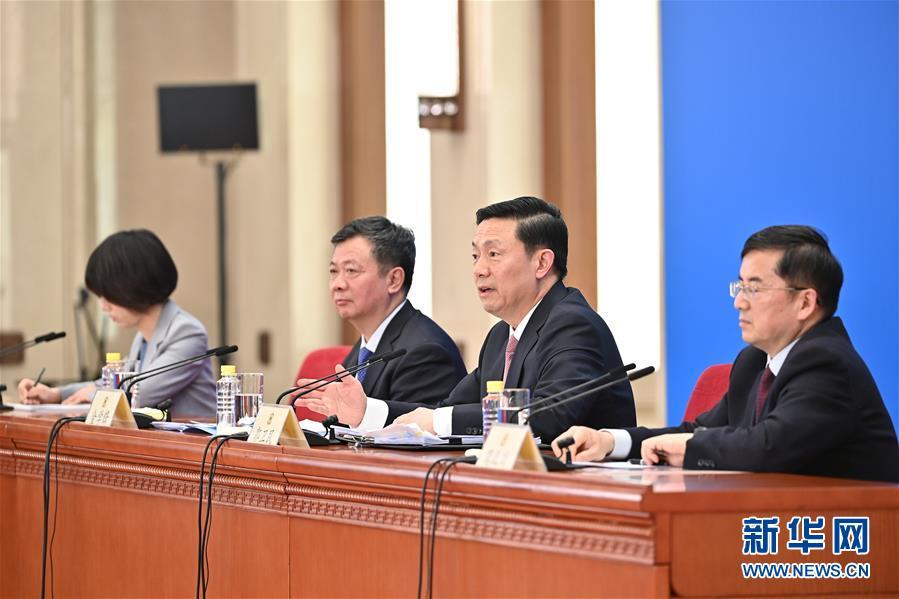 (兩會)(3)全國政協十三屆四次會議舉行新聞發布會