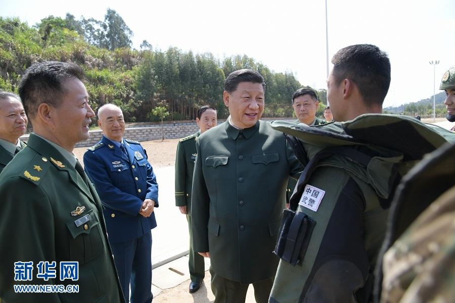 习近平在视察武警第二机动总队时强调