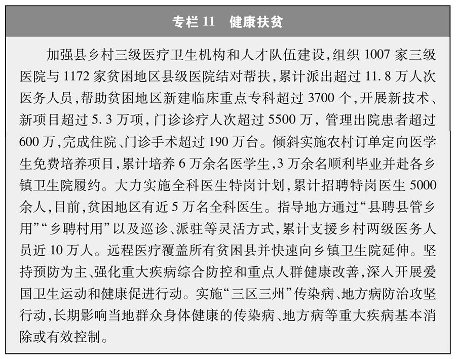 《人类减贫的中国实践》白皮书(全文)(图14)